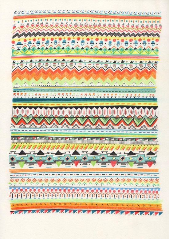 Pattern No.3 Canvas Print