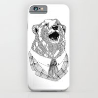 iPhone & iPod Case featuring Mr  Bear by luradontsurf