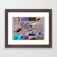 The World From My Comput… Framed Art Print