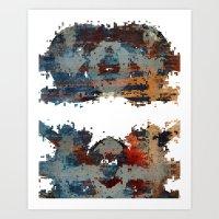disquiet six (desintegração) Art Print