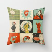 All the SIGNS of a REVOLUTION Throw Pillow