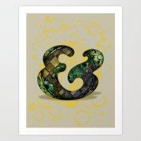 Ampersand Series - Coope… Art Print