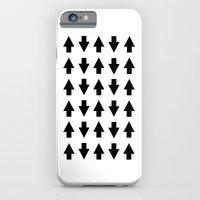 Arrows Black iPhone 6 Slim Case