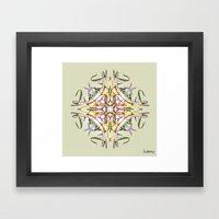 Symbiosis II Framed Art Print