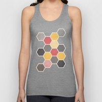 Honeycomb 3 Unisex Tank Top