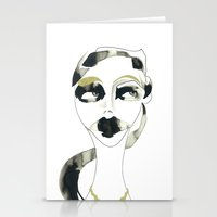 a bystander Stationery Cards