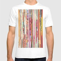 Cut Off Mens Fitted Tee White SMALL