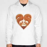 Love Heart Squirrels Hoody