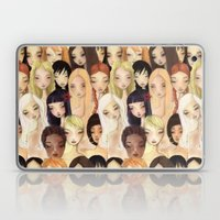 Girlie Pattern Laptop & iPad Skin