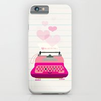iPhone & iPod Case featuring just my type by Jill Howarth