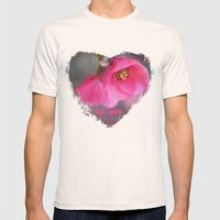 Be Love Mens Fitted Tee Natural SMALL