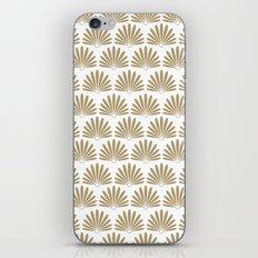 White & Tan Daisies iPhone & iPod Skin