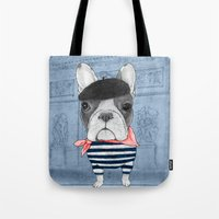 French Bulldog. Tote Bag