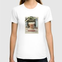 Tears In The Typing Pool… Womens Fitted Tee White SMALL