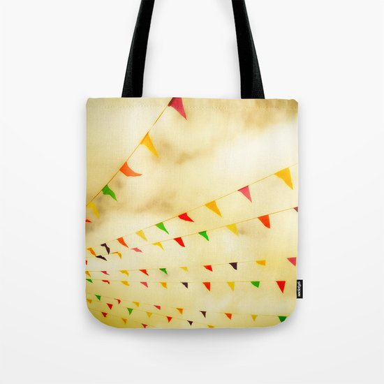 Flags & Color Tote Bag
