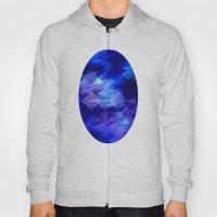 Anemone Wave Pixel Hoody