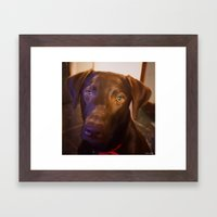 Love Ya Framed Art Print