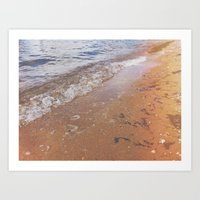 Boats Against the Current Art Print