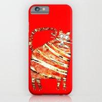 iPhone Cases featuring FELIS CORPOROSUS by Matthew White