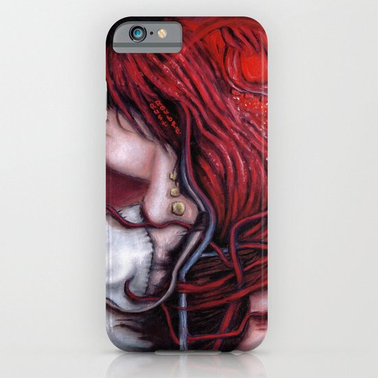my heart soars like a blood red artifact iPhone & iPod Case