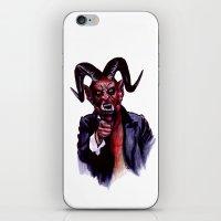 Uncle Satan iPhone & iPod Skin