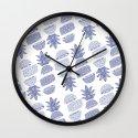 Pineapples (Light/Sliced) Wall Clock