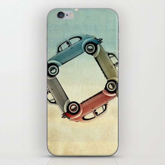 4 more bugs _ VW beetle iPhone & iPod Skin