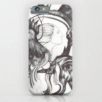 iPhone & iPod Case featuring Retrato de Sirena by Raül Vázquez