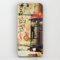 The Formerly Mean Streets of Williamsburg iPhone & iPod Skin