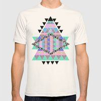 CANDIE CANDIE Mens Fitted Tee Natural SMALL