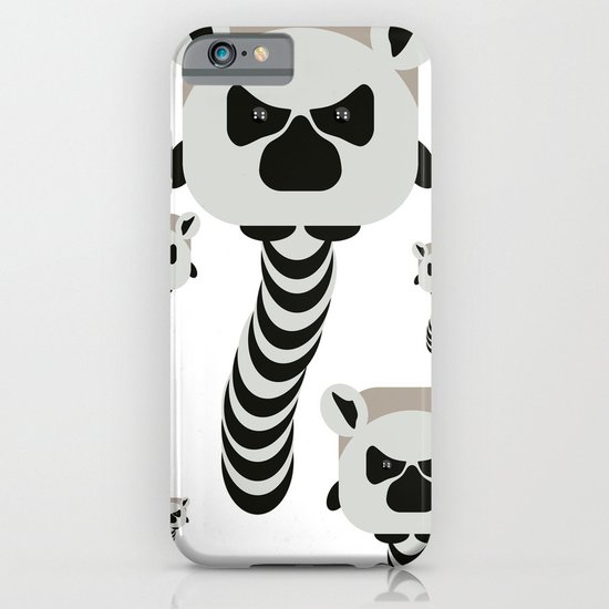 Chubby Lemur iPhone & iPod Case