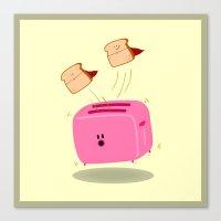 Toast! Canvas Print