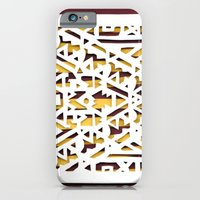Aztec Pattern Papercut iPhone 6 Slim Case