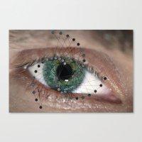 The Geometric Eye Canvas Print