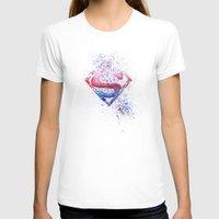 superman T-shirts featuring Superman by emegi