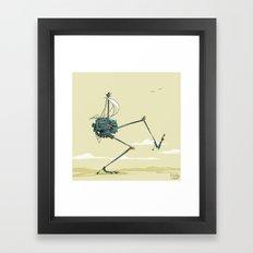 sailbot Framed Art Print