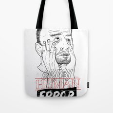 enjoy human error Tote Bag