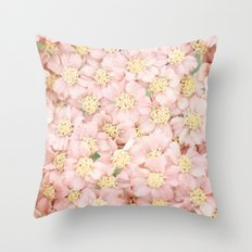 Pink Bloom  Throw Pillow