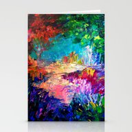 WELCOME TO UTOPIA Bold R… Stationery Cards