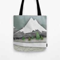 Wrinkled winter  Tote Bag