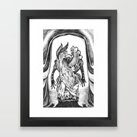 Haunted Clothing- The Sm… Framed Art Print