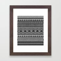 Ethnic Black Framed Art Print