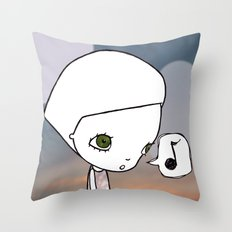 Gone Fishing (1) Throw Pillow