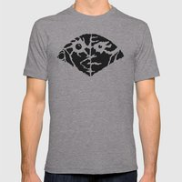 Quake Mens Fitted Tee Athletic Grey SMALL