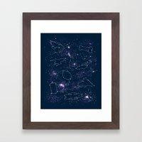 Star Ships Framed Art Print