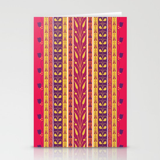 Palmette Stationery Card