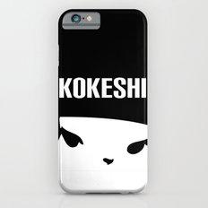 Kokeshi Logo Square Design MORE BLACK iPhone 6 Slim Case