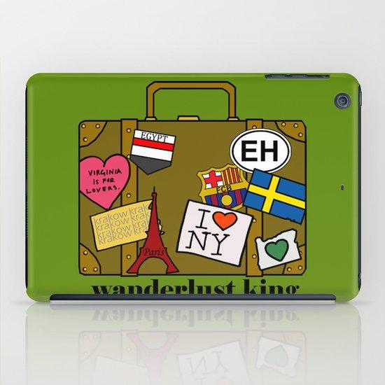 Wanderlust King iPad Case