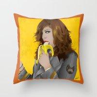 Mac Gie Throw Pillow