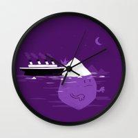 Rude Awakening Wall Clock